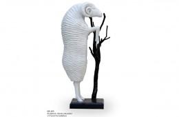 Bélier  Sculpture résine 177cmX73cmX80cm