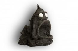 Poisson 2   Sculpture en grès 25cm