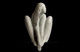 Rêverie  Sculpture bronze 50cm