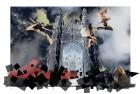Le carrousel des anges Photocomposition 180X120 cm