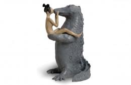Le baiser Sculpture bronze 32cmX20cmX18cm